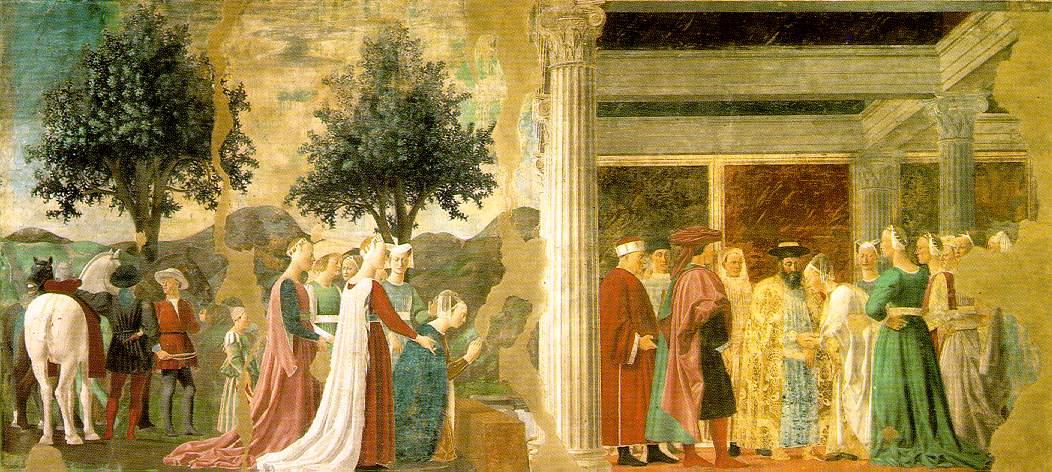 Webmuseum Piero Della Francesca Frescoes In San