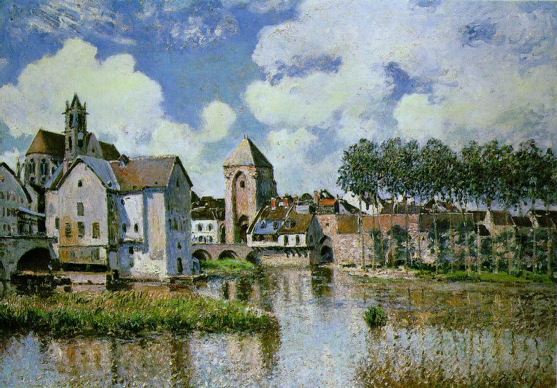an analysis of the flood at port marley by alfred sisley The unusually severe flooding at port-marly of february 1876 inspired sisley to paint seven different paintings, one of which was exhibited in the third impressionist.