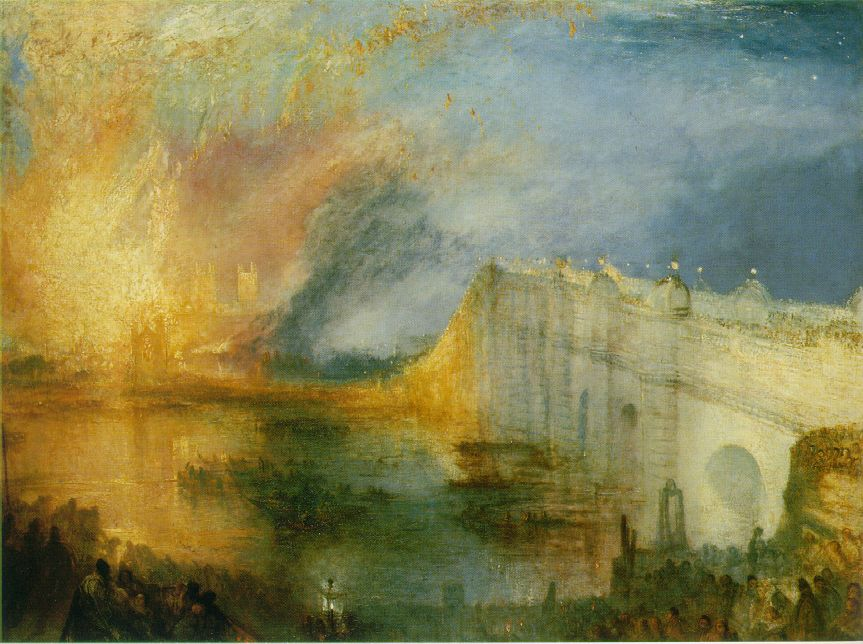 Turner The Burning Of The Houses Of Lords And Commons