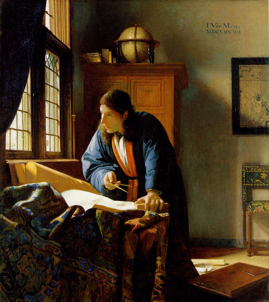 WebMuseum: Vermeer, Jan: The Geographer